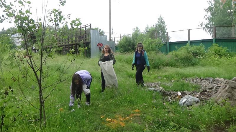 Добровольцы проявили заботу о природе