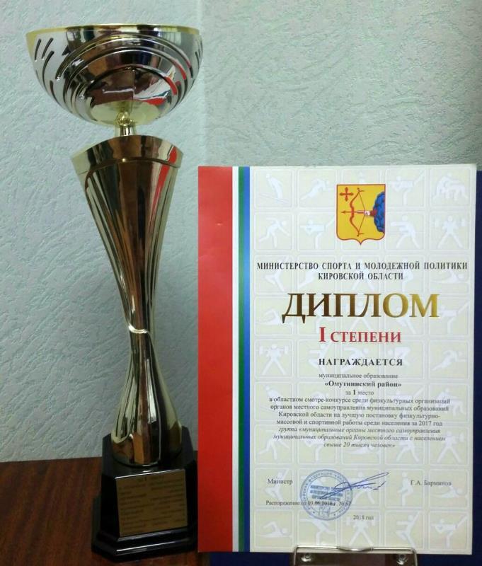 Первый в области по спорту — Омутнинский район