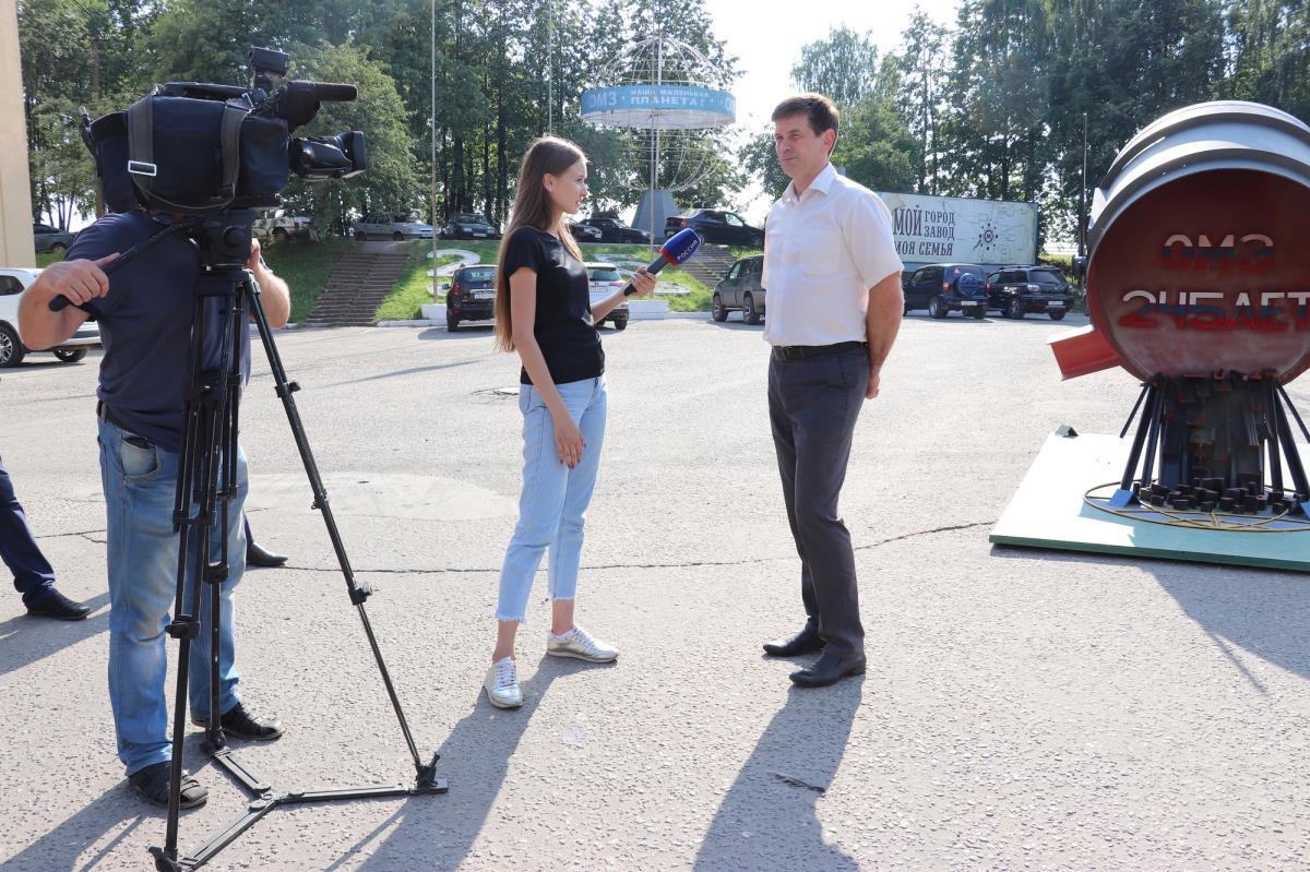 В Омутнинске работала съемочная группа телевидения