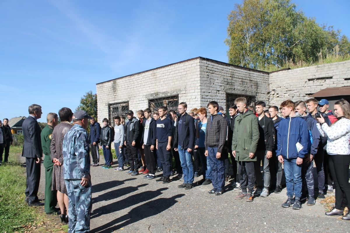 В Омутнинске прошла спартакиада допризывной молодежи