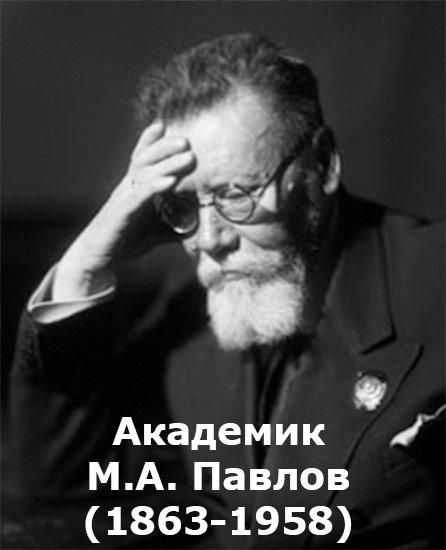 Академик М.А. Павлов (1863-1958)