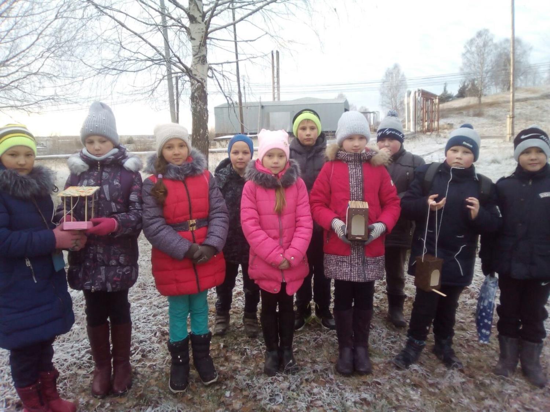 В Песковке – «cтоловая» для птиц