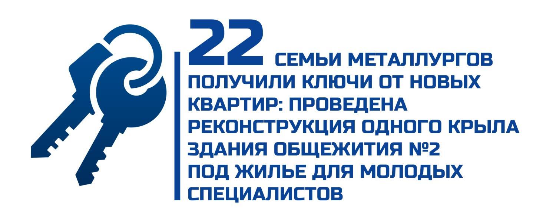 Итоги 2018 Жилье для 22 семей заводчан