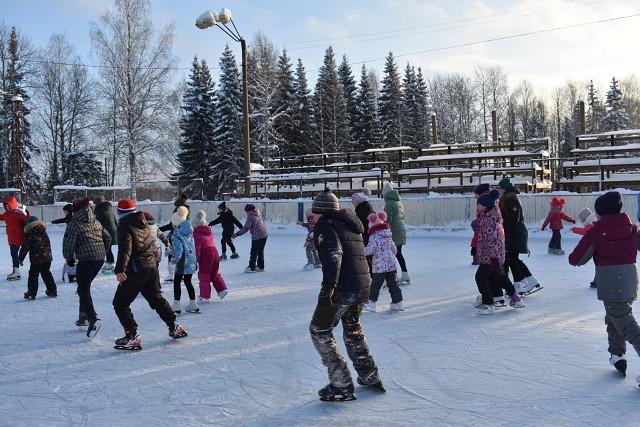 Ледовый праздник на Восточном