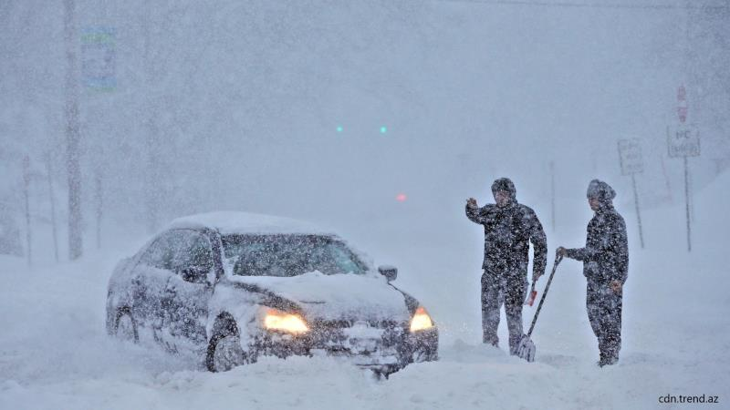 Сильные снегопады накроют область