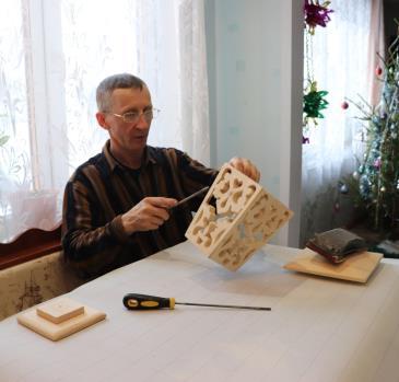 изделия Владимира Кошкина, конкурс радуга творчества