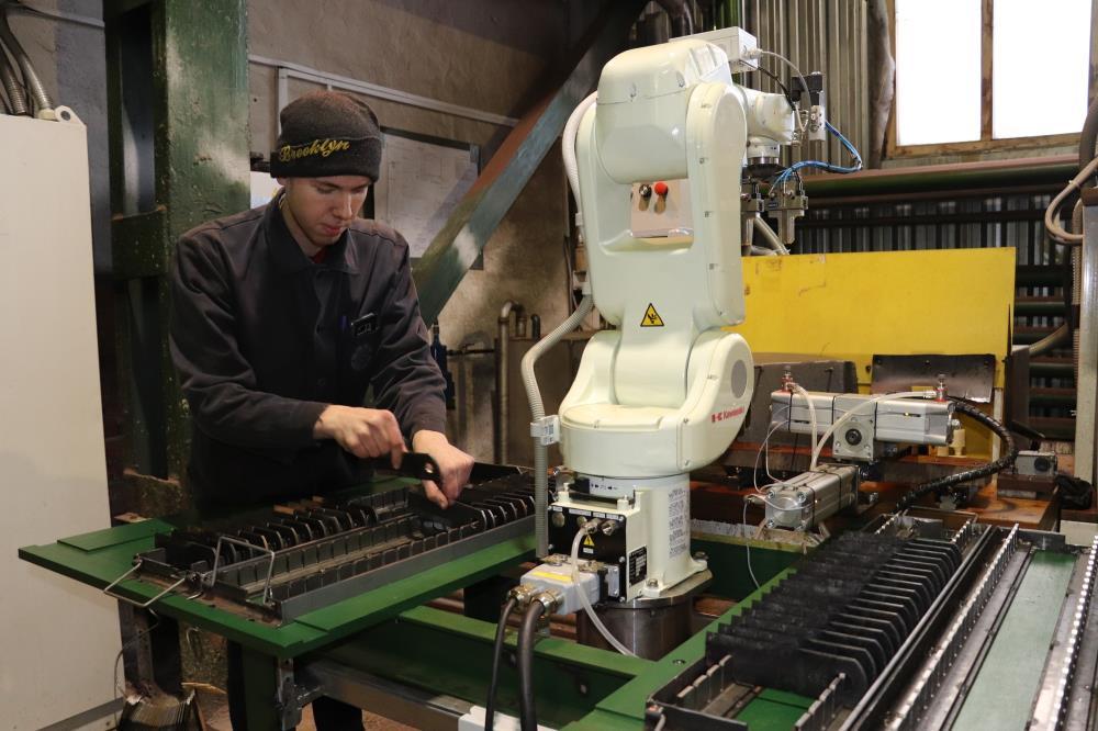 Робот-манипулятор заменит ручной труд