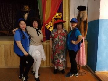 В Белореченском клубе состоялась познавательная программа «Волшебный мир масок» 3