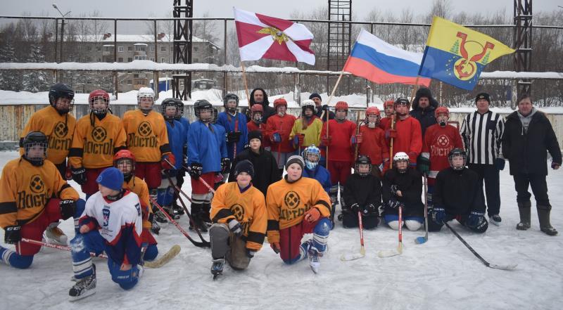 на ледовой площадке Восточного состоялись товарищеские игры по хоккею 2