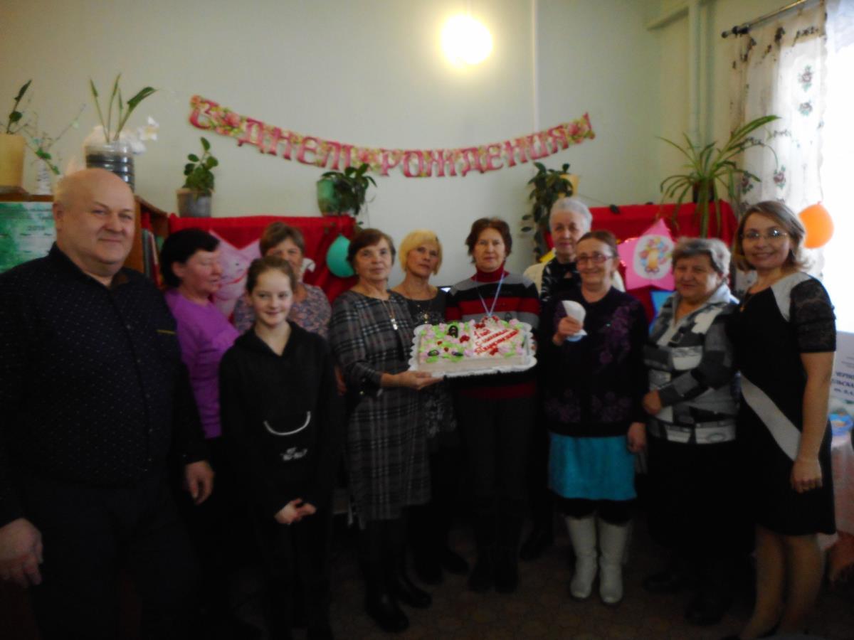 Чернохолуницкой сельской библиотеки отметили год со дня присвоения библиотеке имени 5