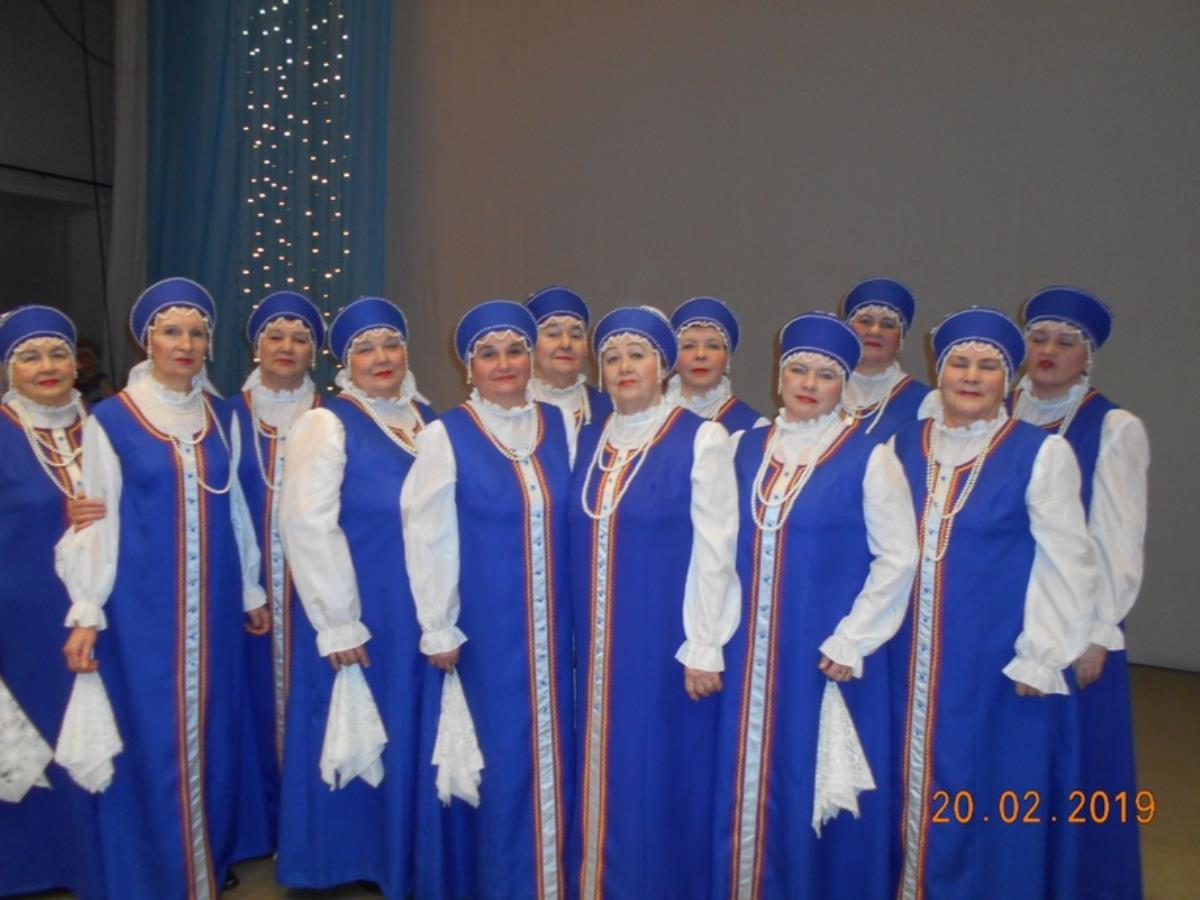 Омутнинская «Металлинка» на поединке хоров