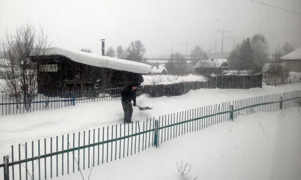 Проблема уборки и вывоза снега