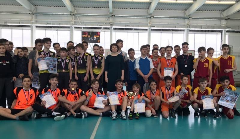 Баскетбол среди школьников