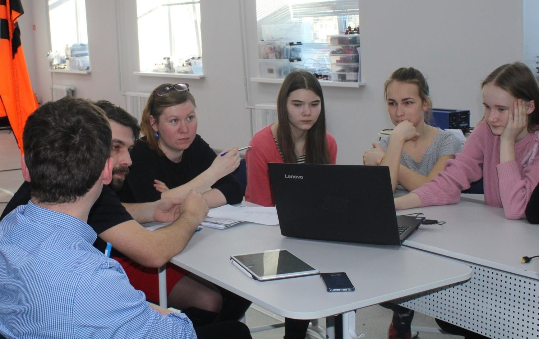 Инженерный класс приступил к работе над проектами