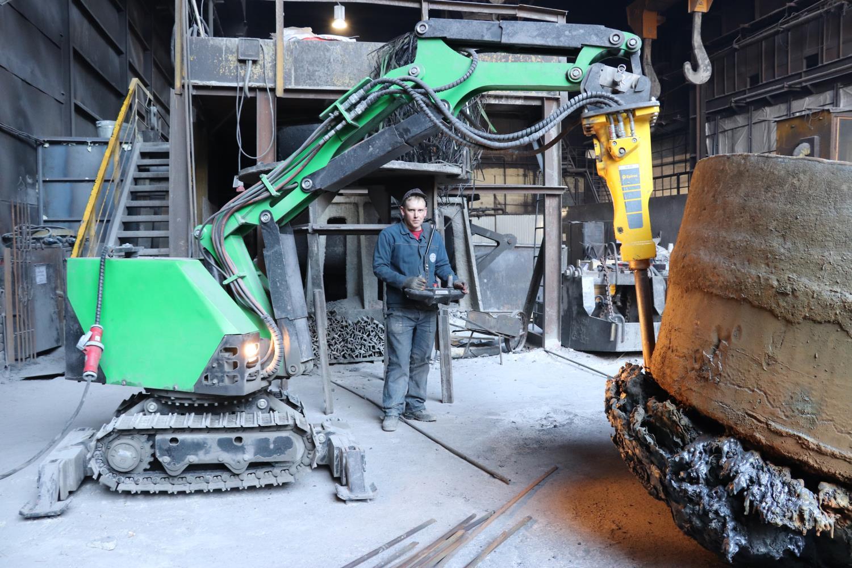 Робот для демонтажа