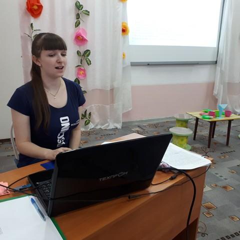 В «Малыше» работает клуб младшего воспитателя