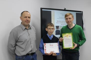 Ученик Кванториума стал лауреатом Всероссийского конкурса «Юный исследователь» 2