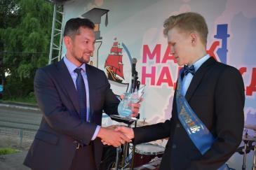 выпускном бале «Маяк надежды-2019» 2