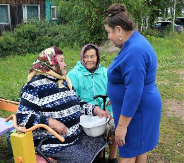 ТОС «Бамовский» отметили День посёлка 9