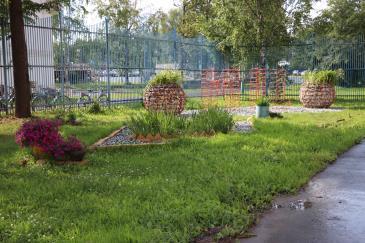 творческий смотр-конкурс благоустройства и озеленения территории завода 1