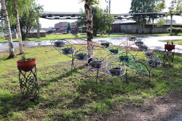 творческий смотр-конкурс благоустройства и озеленения территории завода 2