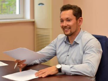исполнительный директор предприятия Сергей Волосков
