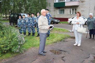 В Восточном состоялось открытие мемориальной доски почетному жителю поселка В.А. Валову 4
