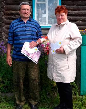 Супруги Масленниковы