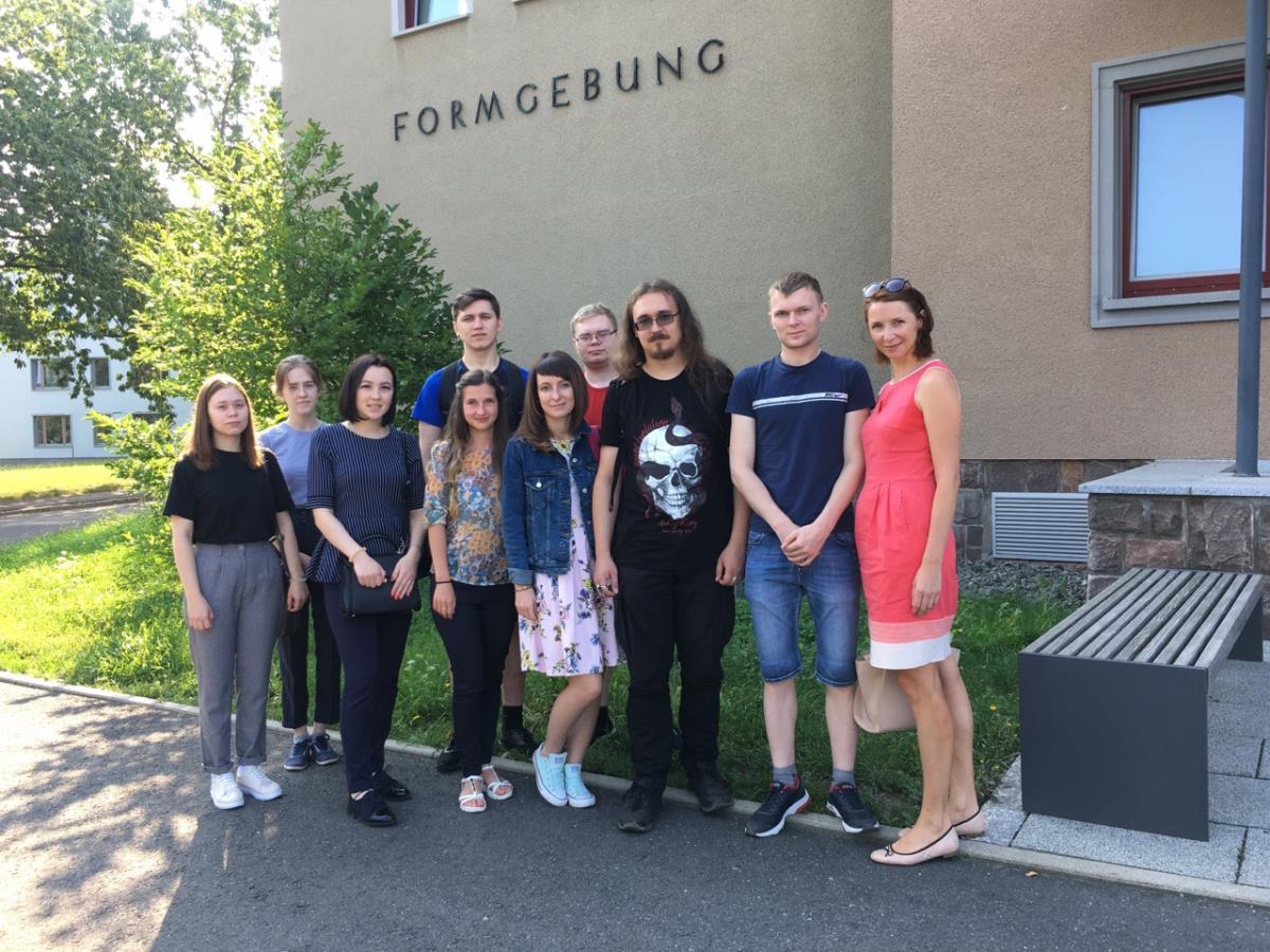 Студенты и заводчане посетили Германию