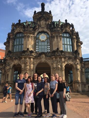 делегация студентов ВятГУ вернулась из рабочей поездки в Германию 9