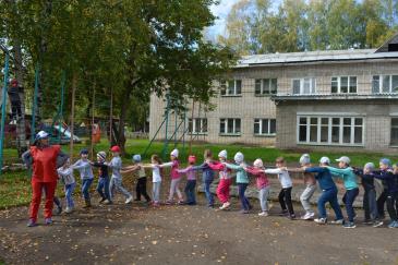 «Яркий праздник» для воспитанников детского сада «Малыш» 3