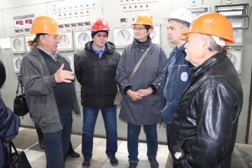 Ветераны-металлурги побывали на заводе 3