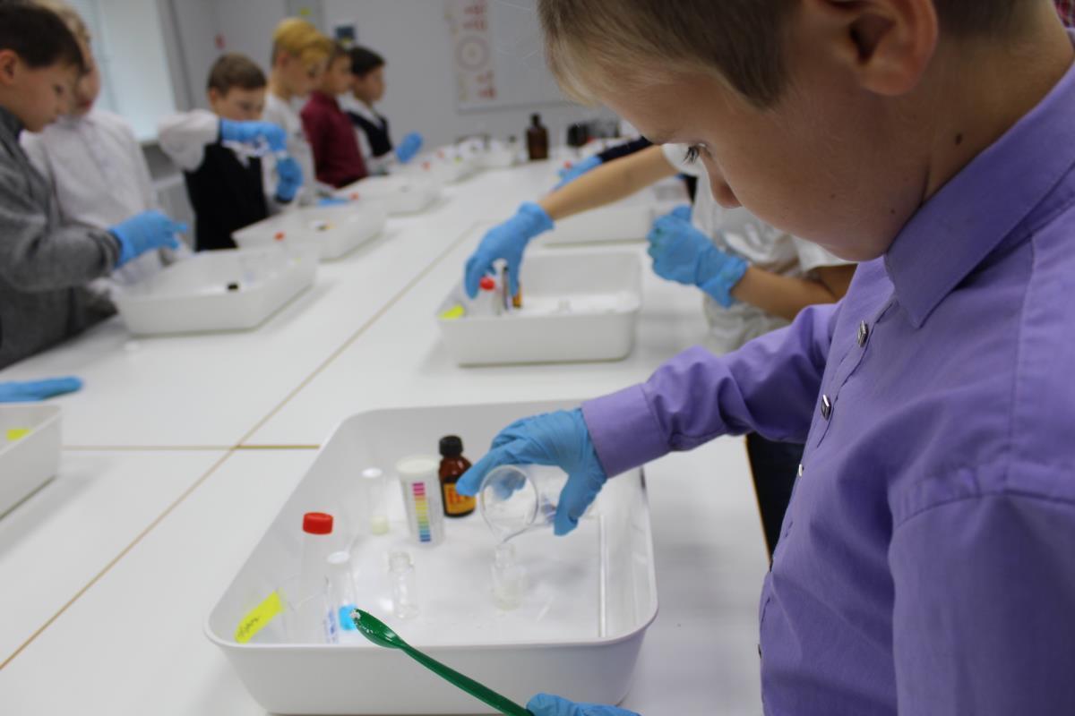 Школьники исследовали продукты