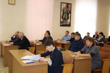 На заседании Думы депутаты приняли отставку В.Л. Друженькова 2