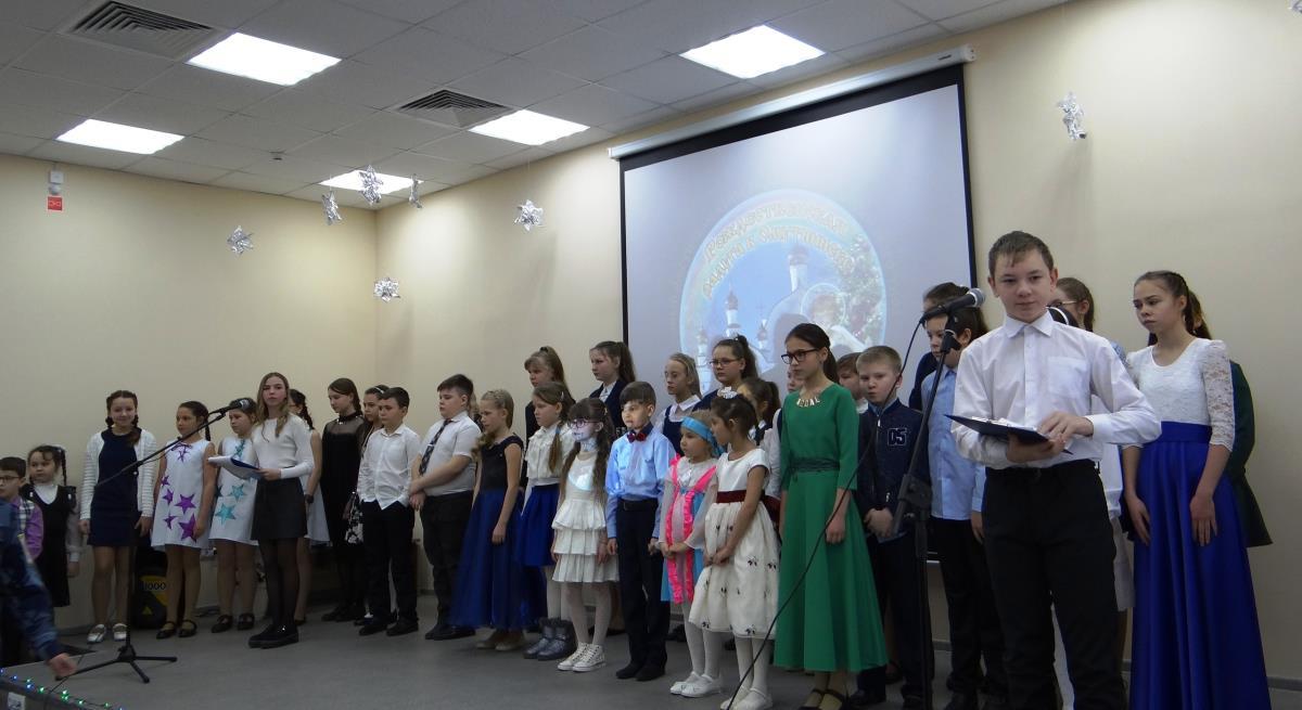 В  Омутнинске была «Рождественская радуга»