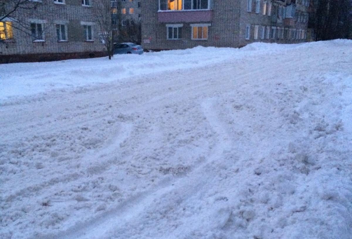 Снег – серьезная проблема