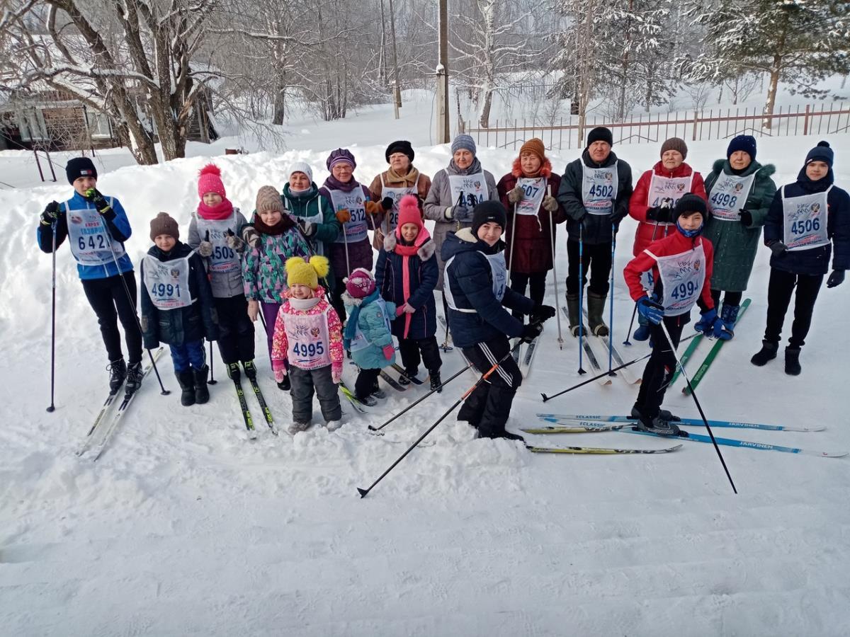 «Лыжня России» – зимний праздник