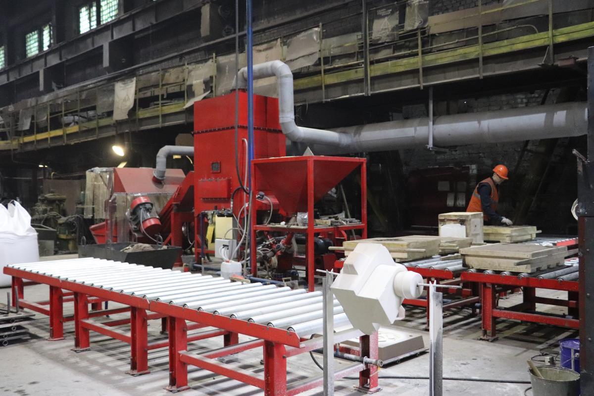 На заводе идет освоение новых видов продукции