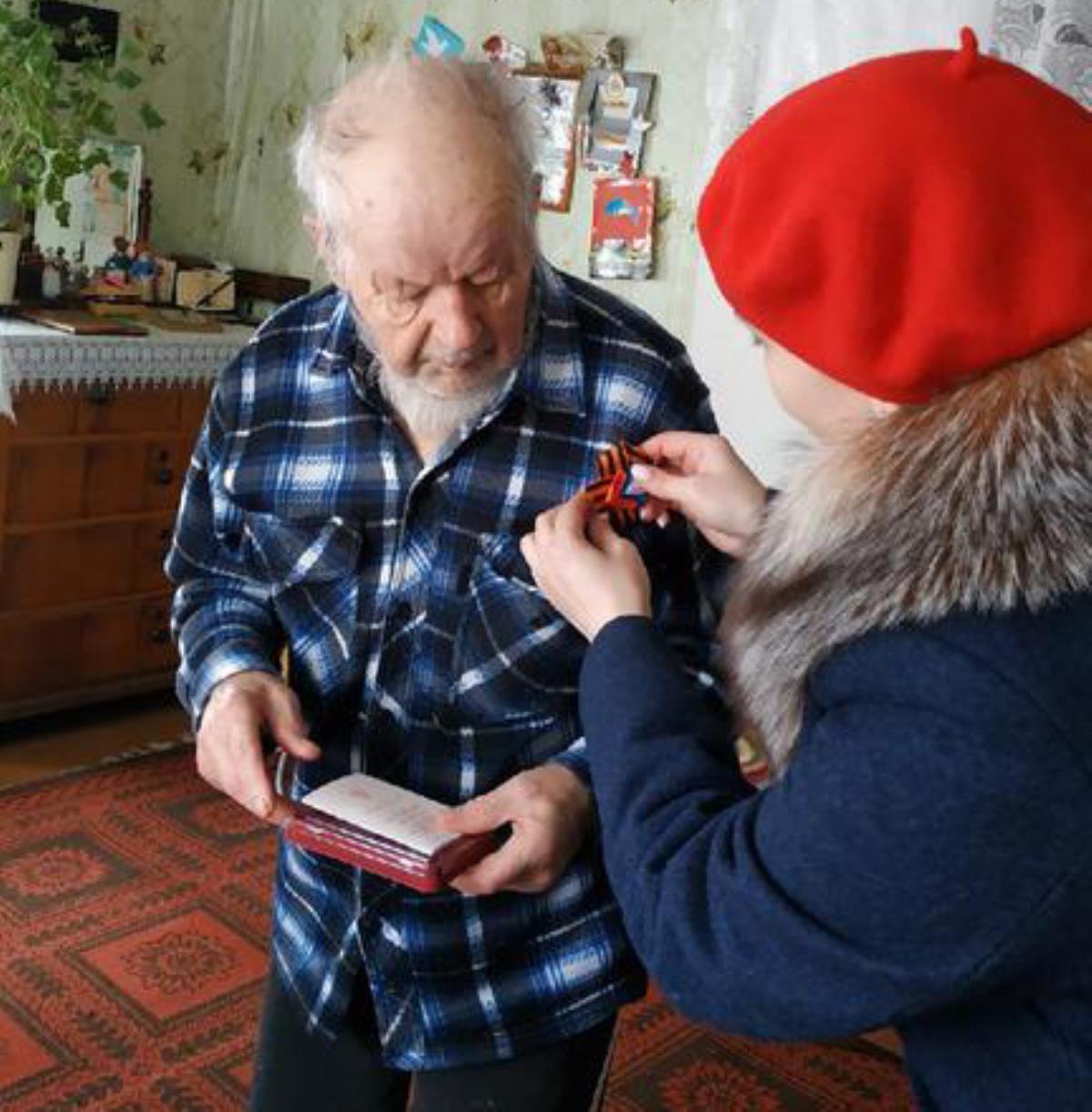 Ветеранам — медали, здоровья и долгих лет жизни