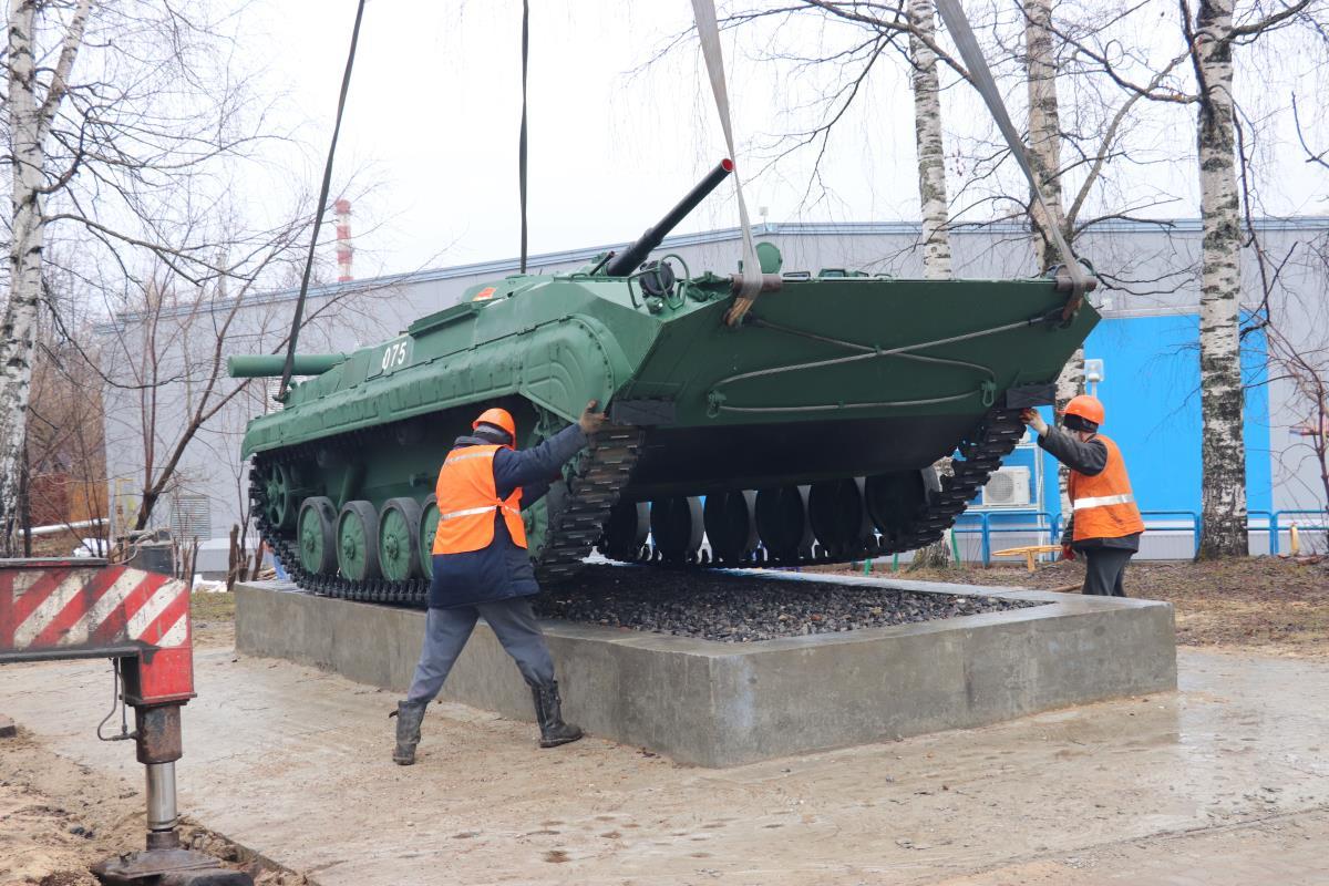 В Омутнинске установили новый мемориал