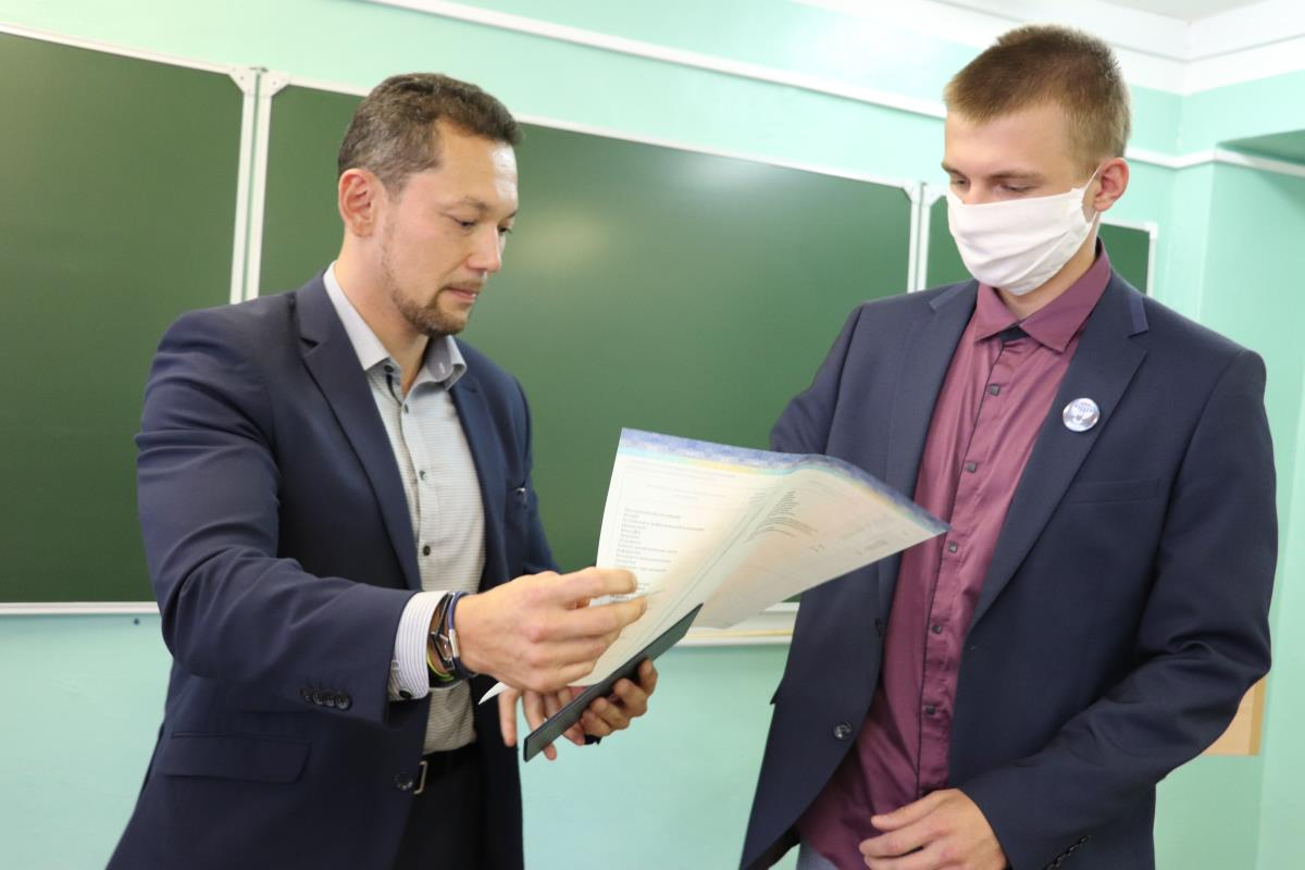 Металлурги получили дипломы