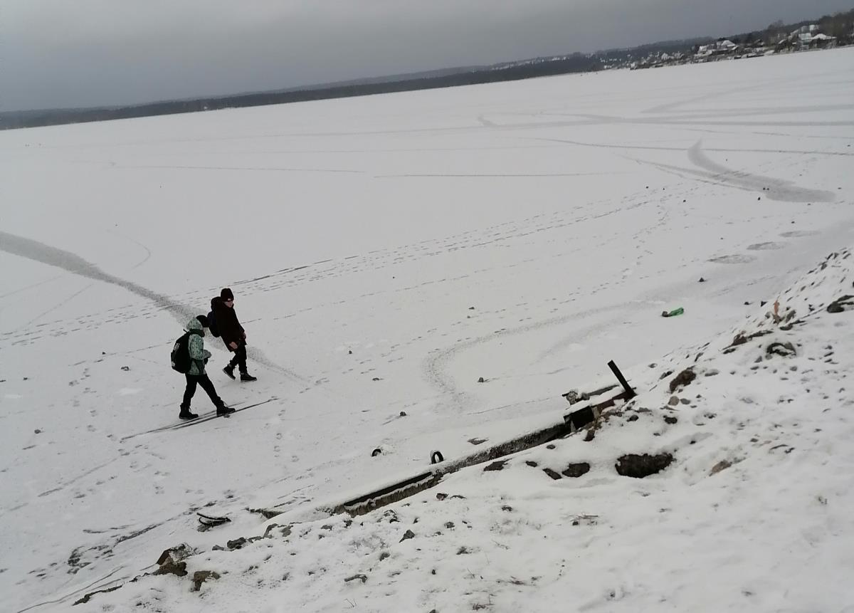 Лед – не место для прогулок