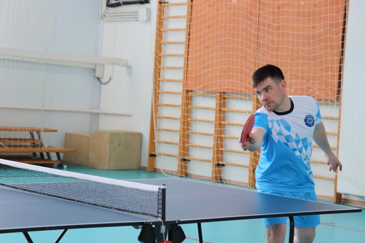 Металлурги встретились на турнире по настольному теннису
