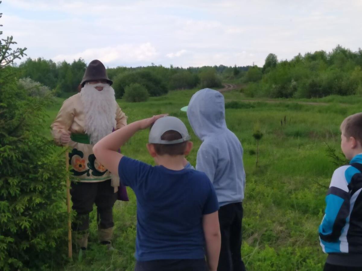 Ребята стали защитниками природы