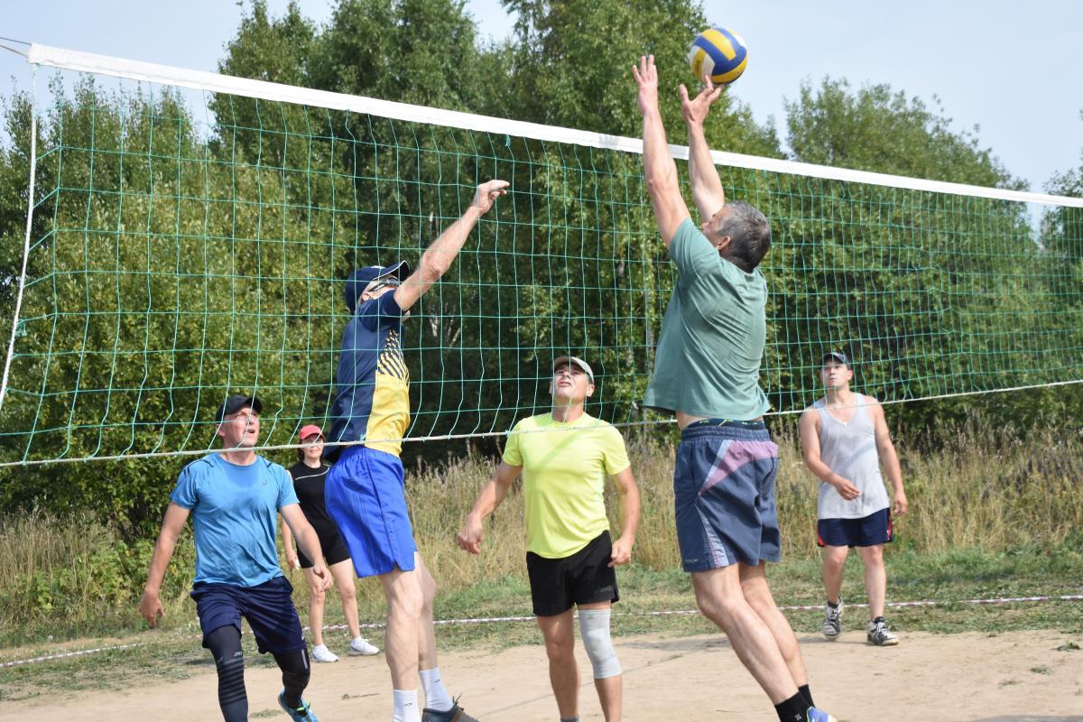 Праздник волейбола и давних друзей